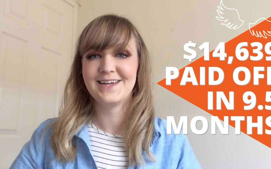 Debt Free Story   Rebecca Paid Off $14,639 in 9.5 Months!